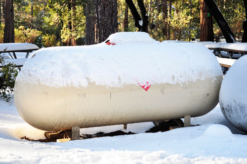 Things you can do for your outdoor propane tank this winter