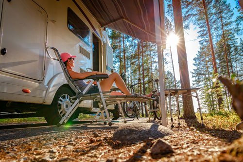 Camping and RVing this summer? Fill those propane tanks!