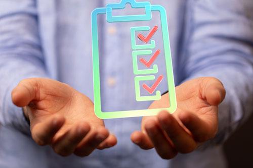 Summer home efficiency checklist